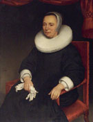 Portrait of Lady - Aelbert Cuyp