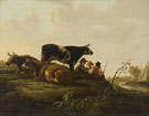 Landscape with Cattle - Aelbert Cuyp