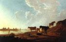 River Scene with Milking Woman - Aelbert Cuyp