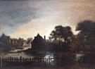 Landscape at Dusk - Aert va der Neer