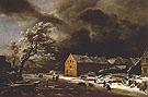 Winter Landscape 1680 - Aert va der Neer