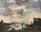Fishing at Moonlight - Aert va der Neer