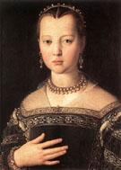Maria de Medici 1551 - Agnolo Bronzino
