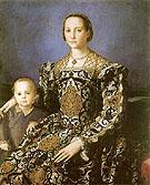 Eleonora of Toledo and Giovanni de Medici c1544 - Agnolo Bronzino
