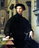 Portrait of Ugolino Martelli 1536 - Agnolo Bronzino