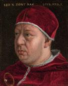 Portrait of Pope Leo X c1475 - Agnolo Bronzino