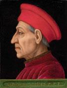 Portrait of Cosimo il Vecchio c1389 - Agnolo Bronzino