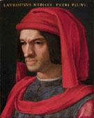 Portrait of Lorenzo il Magnifico c1449 - Agnolo Bronzino