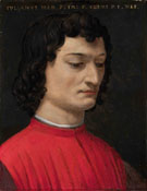 Portrait of Giuliano di Piero c1453 - Agnolo Bronzino