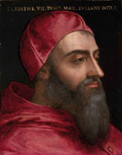 Portrait of Pope Clement VII c1478 - Agnolo Bronzino