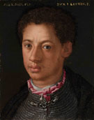 Portrait of Duke Alessandro c1510 - Agnolo Bronzino