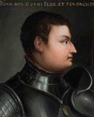 Portrait of Giovanni Dalle Bande Nere - Agnolo Bronzino