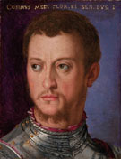 Portrait of Grand Duke Cosimo - Agnolo Bronzino