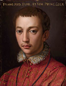 Portrait of Francesco I c1541 - Agnolo Bronzino