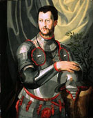 Portrait of Cosimo I de Medici in Armor - Agnolo Bronzino