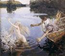 The Aino Triptych 1891 - Akseli Gallen Kallela
