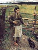 Akkajakissa 1885 - Akseli Gallen Kallela