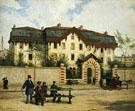 Asile Suisse A St Mande Paris 1872 - Albert Anker