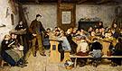 Dorfschule - Albert Anker