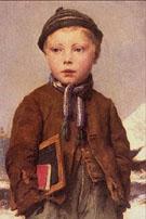 School Boy - Albert Anker
