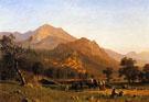 Rocca De Secca - Albert Bierstadt