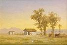 Homestead in the Rocky Mountains 1863 - Albert Bierstadt