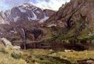 Mountain Lake - Albert Bierstadt