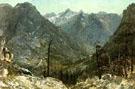 The Sierra Nevadas - Albert Bierstadt