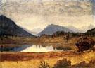 Wind River Country I - Albert Bierstadt