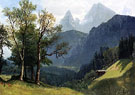 Tyrolean Lansscape 1868 - Albert Bierstadt