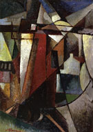 Landscape with Windmill - Albert Gleizes