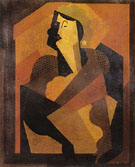 Woman with Black Stockings - Albert Gleizes