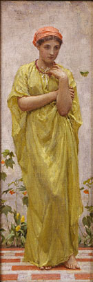 The Green Butterfly c1878 - Albert Moore