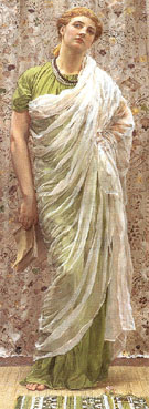 The End of the Story 1877 - Albert Moore