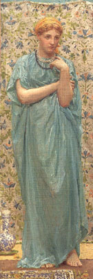 Marigolds 1877 - Albert Moore