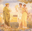 The Loves of The Winds and the Seasons c1890 - Albert Moore