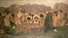 Elijahs Sacrifice 1863 - Albert Moore