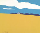 Blueberry Field 1968 - Alex Katz