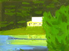 Yellow House 2008 - Alex Katz