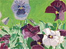 Pansies 1967 - Alex Katz