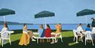 Beach Stop 2001 - Alex Katz