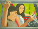 Ada and Vincent in the Car 1972 - Alex Katz