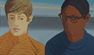 Vincent and Tony 1927 - Alex Katz