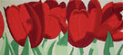 Red Tulpis - Alex Katz