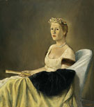 Portrait of Mrs Emily Wilson 1954 - Alexander Brook