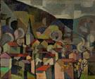 Landscape c1936 - Alexandra Exter