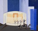 Design for Stage Set for Construction of Light - Alexandra Exter