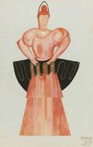 Faust Costume Design - Alexandra Exter
