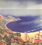 Cover Illus for Panorama de la Cote by Marie Colmont - Alexandra Exter