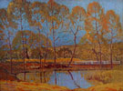 Quiet Pool at White Rock Lake 1926 - Alexandre Hogue